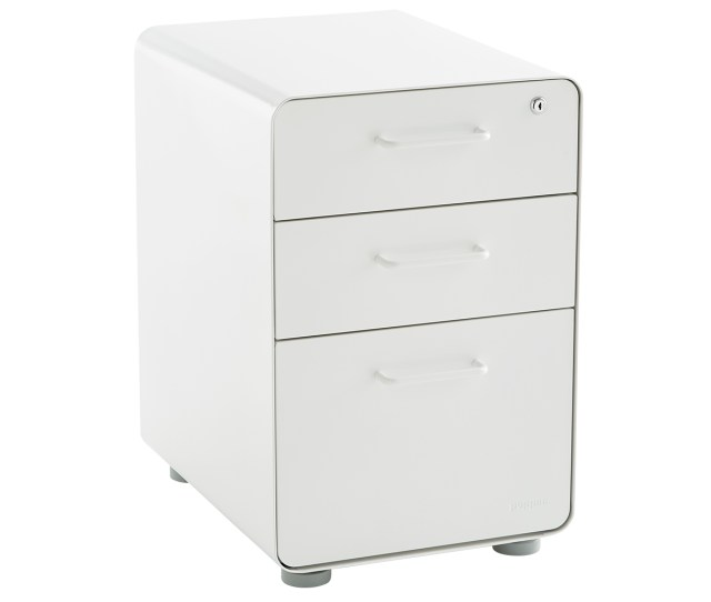 Poppin File Cabinet White Poppin 3 Drawer Stow File Cabinet The Container Store