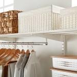White Elfa Laundry Solution