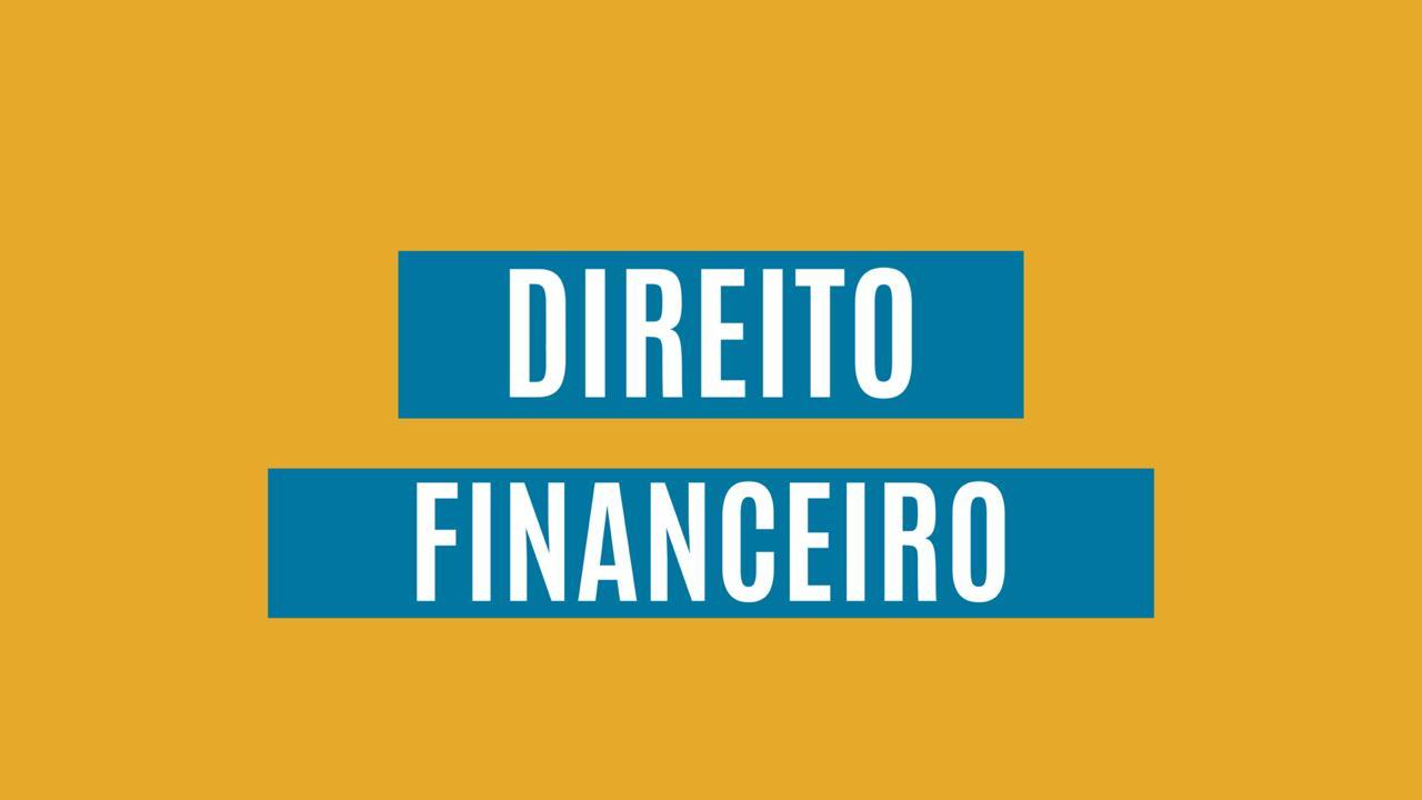 Curso Direito Financeiro