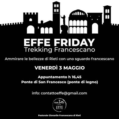 Effe Friday Trakking Francescano Video
