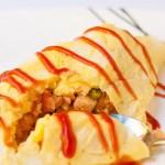 Cheater's Japanese Omelette Rice
