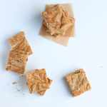 Caramelized White Chocolate Blondies