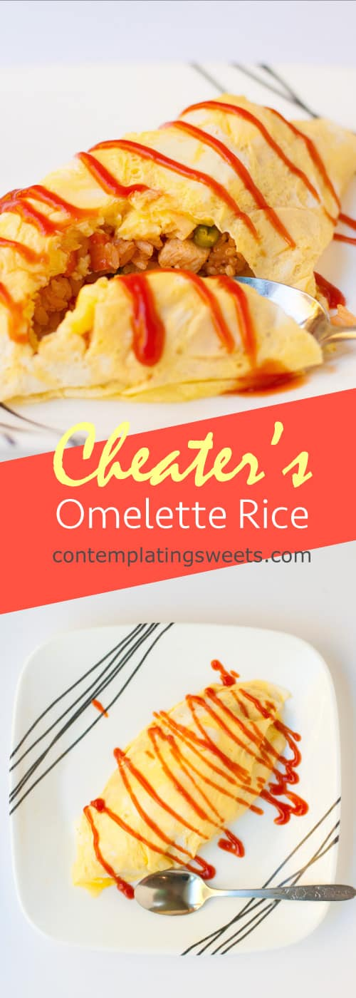 Cheater's Japanese Omelette Rice
