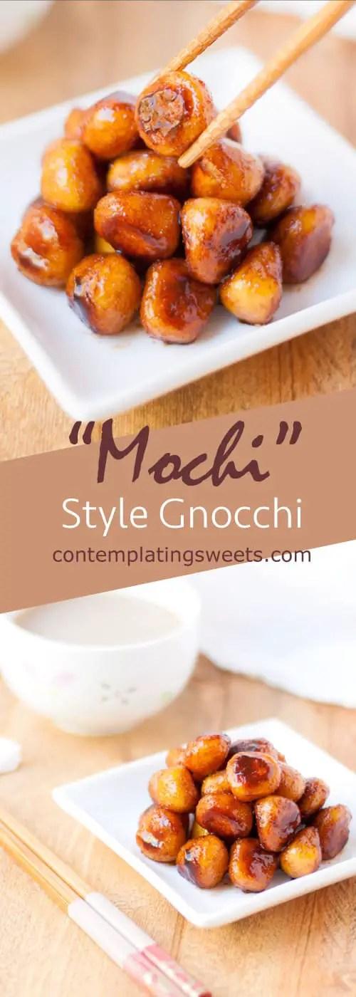Easy mochi style gnocchi