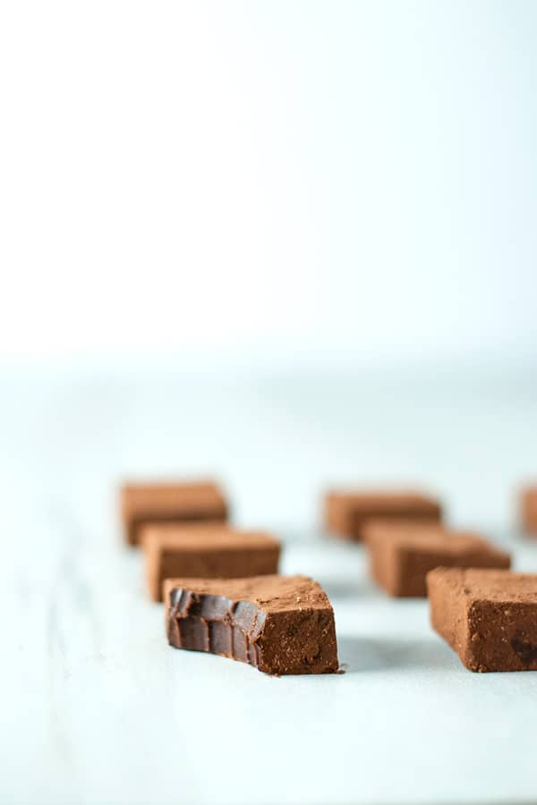 Cinnamon Chocolate Truffles (Nama Chocolates)