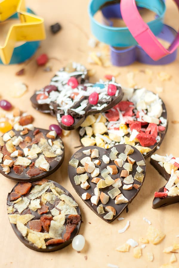 Cookie Cutter Chocolates