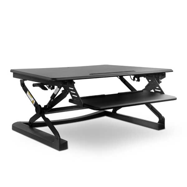 Height Adjustable Standing Desk Black
