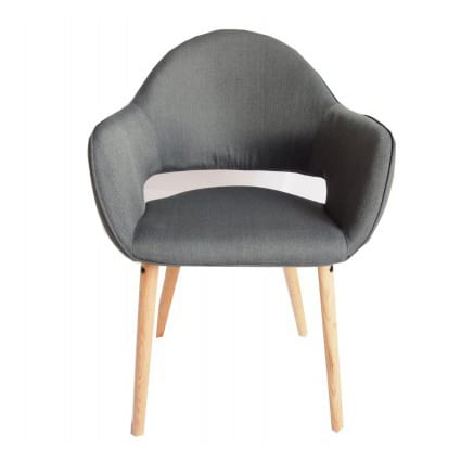Atlas Dining Chair Charcoal | 2