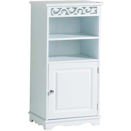 Lure Floor Cupboard in White