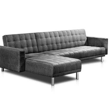 Sofa Bed 5 Seater - Grey