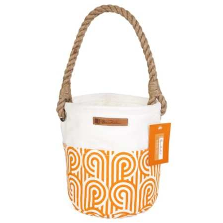 Florence Broadhurst Gardening Tote | Turnabouts | Orange