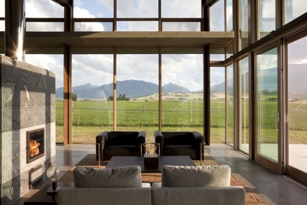 The Glass Farmhouse By Olson Kundig Architects Contemporist