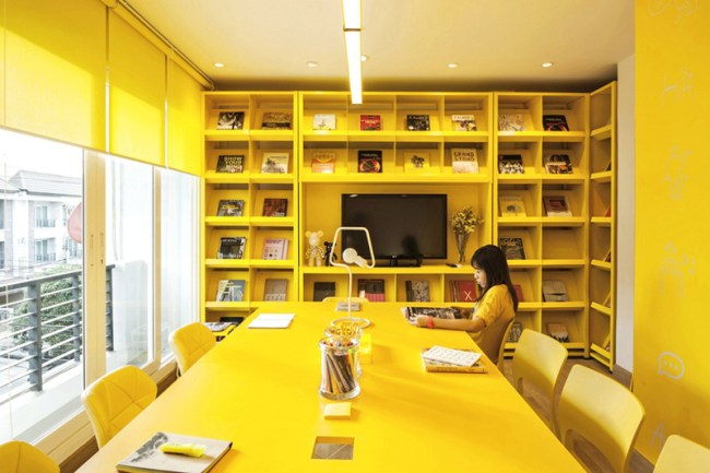 9 Interiors That Have A Whole Lot Of Yellow