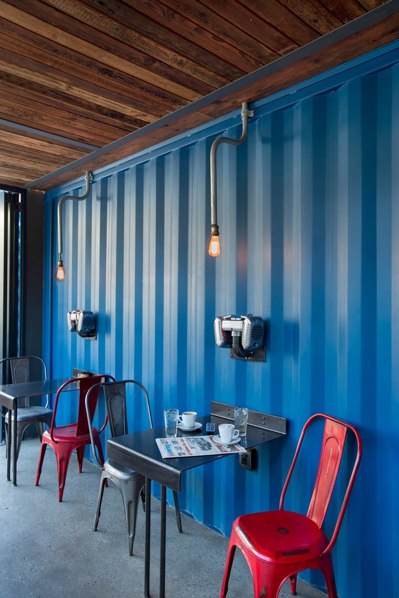 Have A Look Around This Coffee Shop And Showroom Built