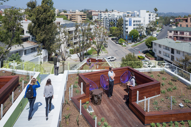 A New Student And Faculty Housing Building In Los Angeles