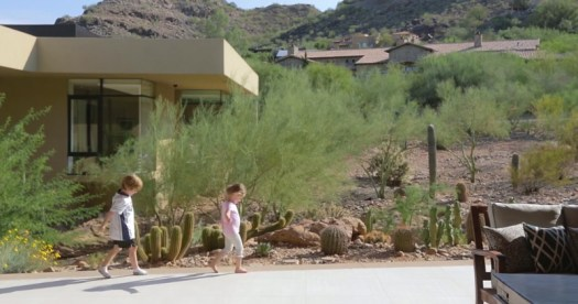 Two Cute Kids Share Their Experience Of Living In A Modern House In The Arizona Desert