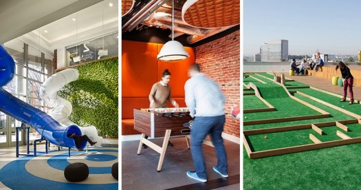 8 examples of why some offices are being called 'playgrounds for adults'
