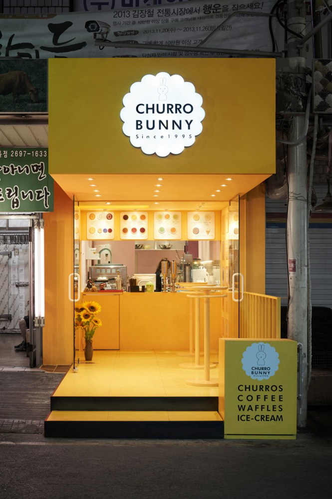 Churro Bunny in South Korea, designed by m4