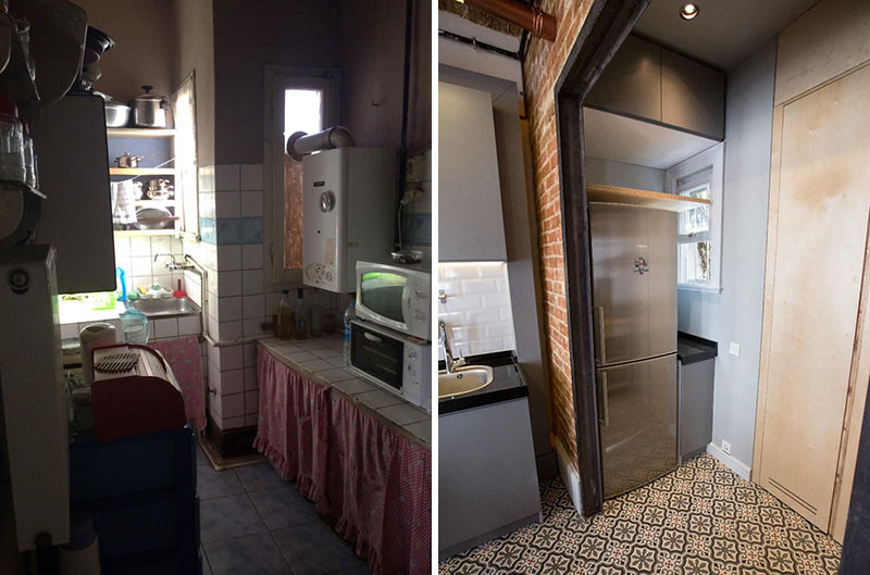 Before Amp After An Apartment Makeover Inside An Old Building CONTEMPORIST