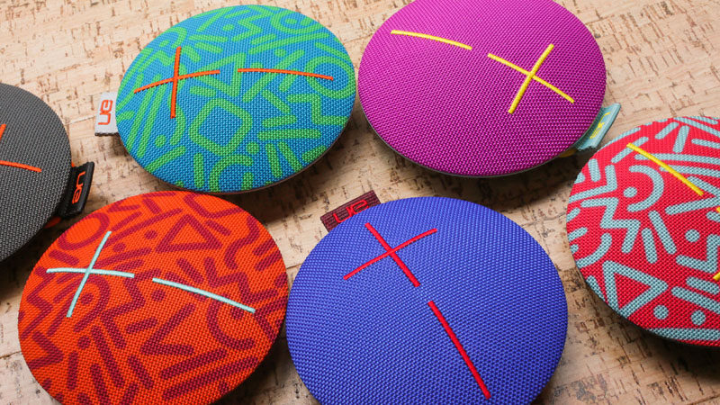 How To Make Your Balcony Awesome For Summer // If you're in the mood for some music, this brightly colored speaker not only looks great and plays your music via bluetooth, it's also waterproof.
