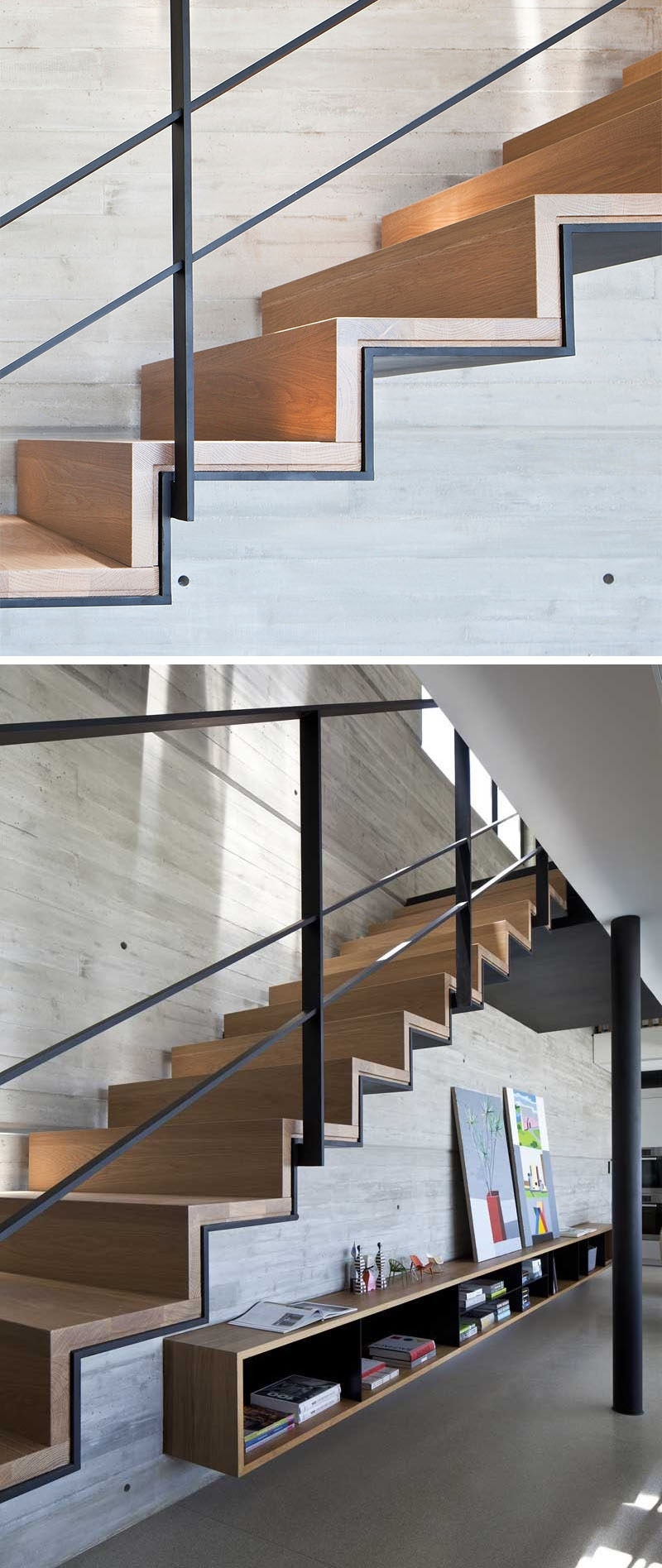18 Examples Of Stair Details To Inspire You | Stairs Covered In Wood | Round | Interior | Metal | Random | Luxury