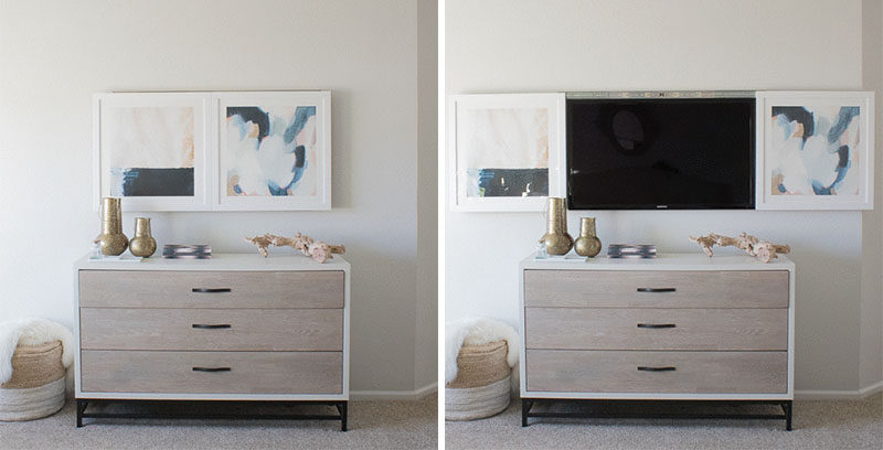 8 ways to include a tv in the bedroom | contemporist