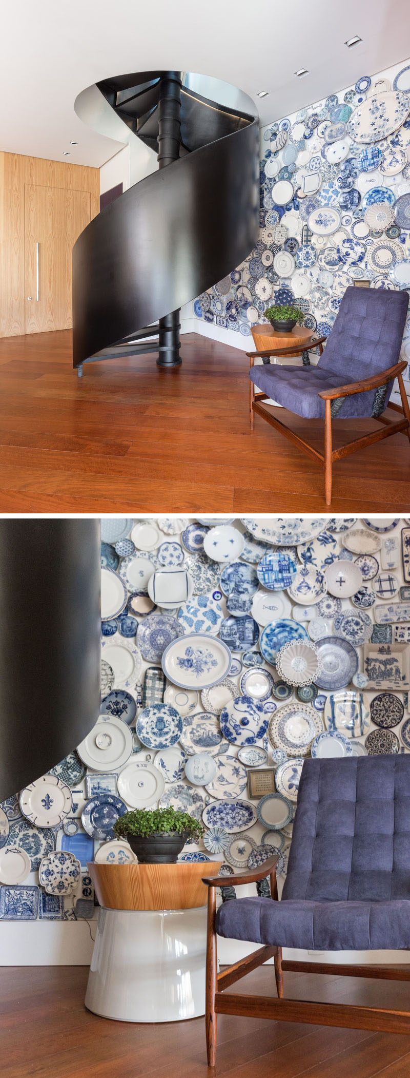 Wall Decor Idea Create An Accent Wall By Filling It With Plates