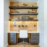 Small Home Office Idea Make Use Of A Small Space And Tuck