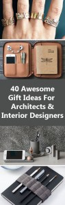 40 Gift Ideas For Architects And Interior Designers   CONTEMPORIST 40 Awesome Gift Ideas For Architects And Interior Designers
