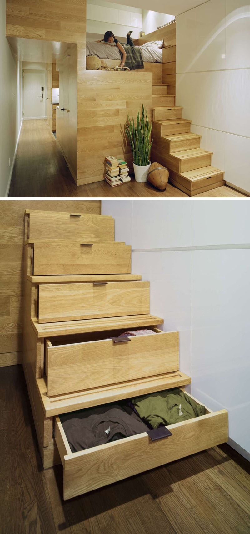 13 Stair Design Ideas For Small Spaces | Spiral Staircase Into Loft | Attic Stairs | Ladder | Bedroom | Space Saver | Staircase Ideas