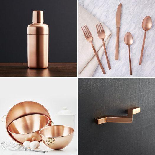 Kitchen Decor Ideas - 12 Ways To Add Copper To Your Kitchen