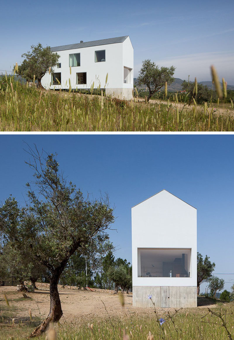 House Exterior Colors 11 Modern White Houses From Around