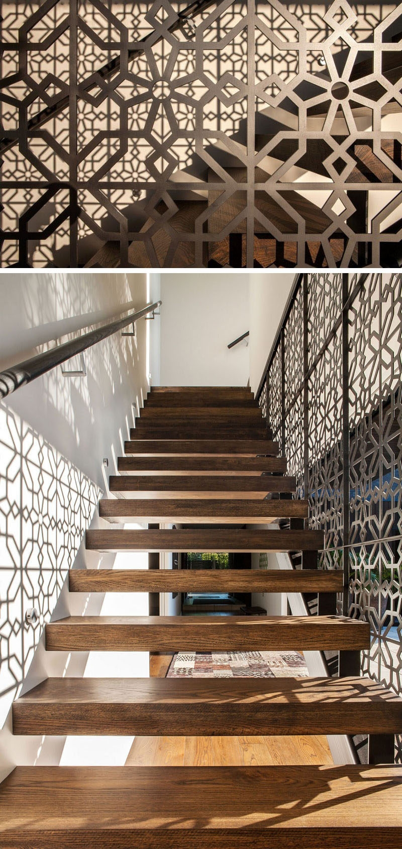 11 Creative Stair Railings That Are A Focal Point In These | Stairs With Glass Sides