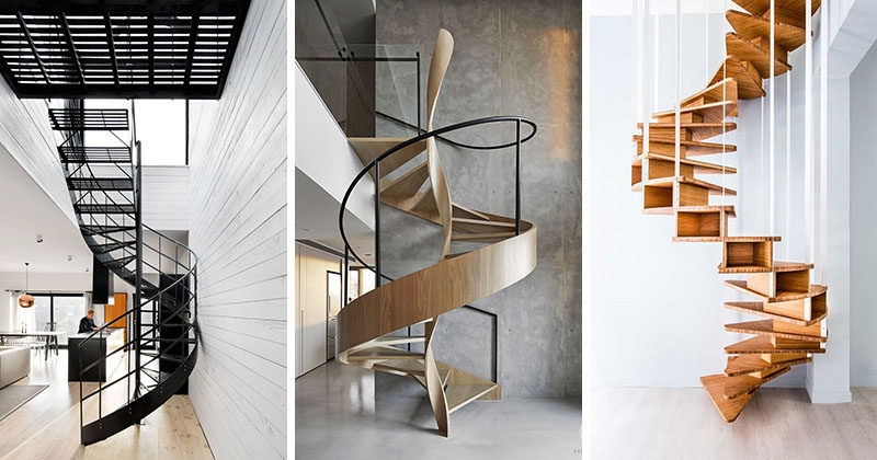 16 Modern Spiral Staircases Found In Homes Around The World | Used Outdoor Spiral Staircase For Sale | Trade Assurance | Alibaba | Wrought Iron | Deck | Alibaba Com