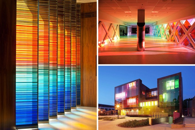10 Examples Of Colored Glass Found In Modern Architecture And
