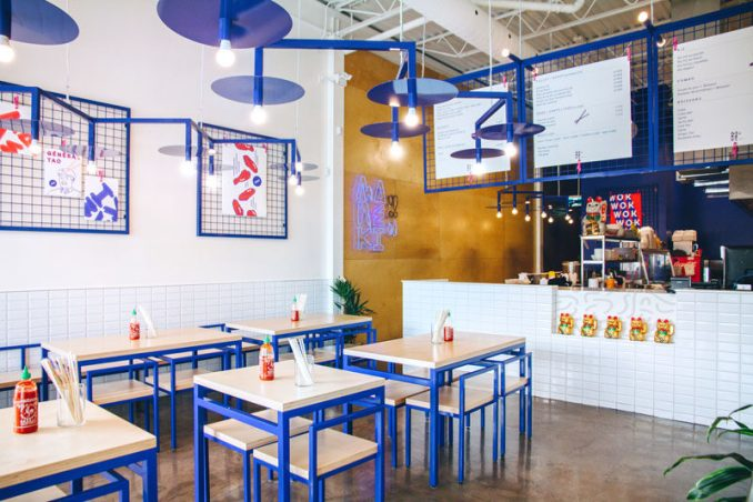Rainville-Sangaré has collaborated with Studio Beau to design the recently launched 'Maneki Comptoir Asiat,' a new Asian restaurant in Montreal, Canada. The designers aimed to create a space that was fun and inviting, while playing with elements of Asian pop culture.