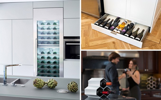 Here are five wine storage ideas for any kitchen.