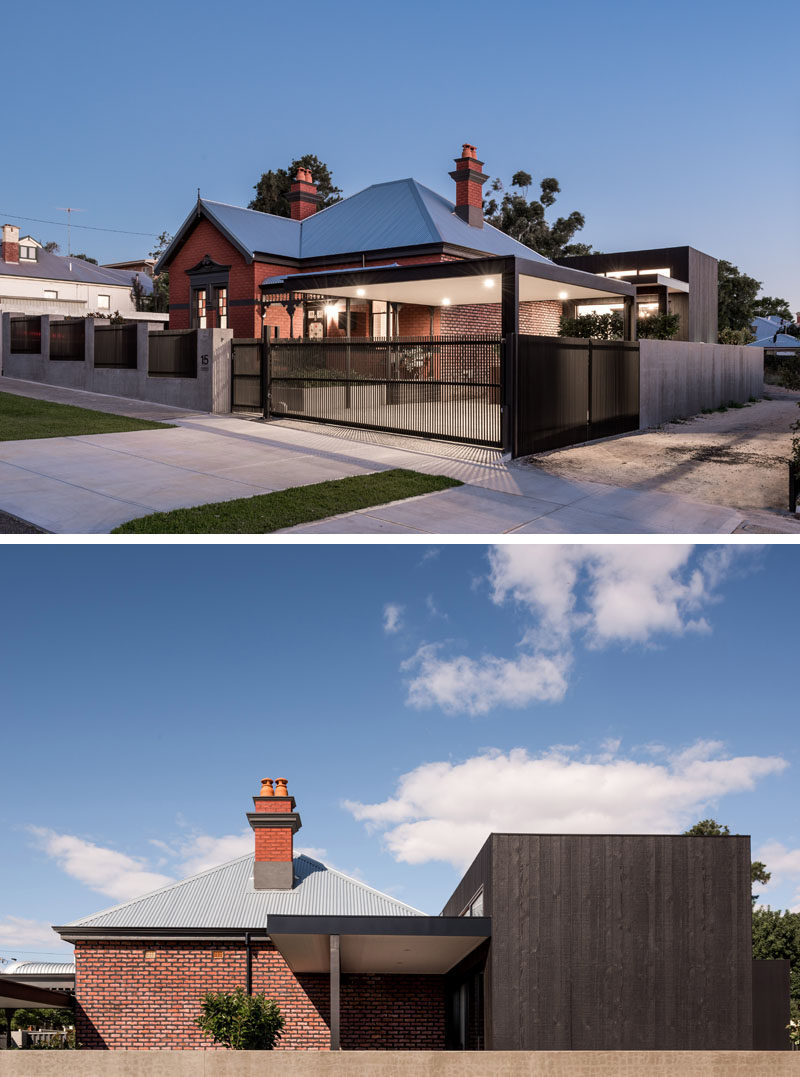 The Contemporary Renovation Of A 100 Year Old Home In