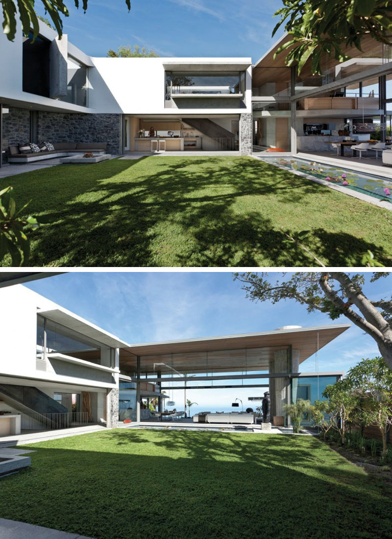 This Modern House In South Africa Wraps Around A Central