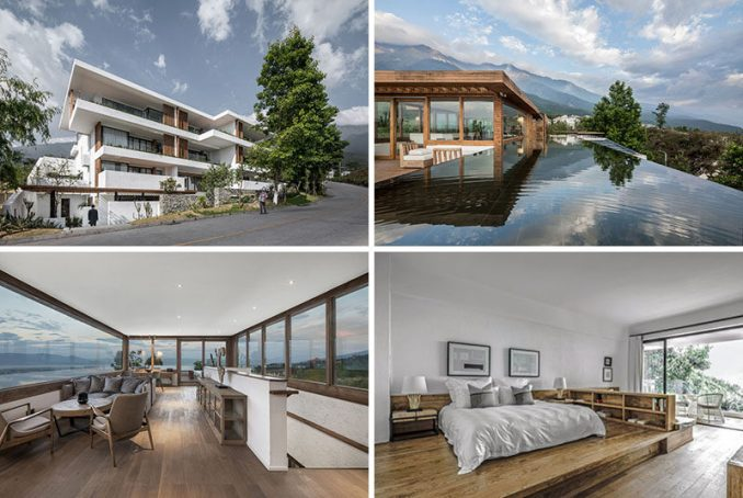 Yueji Architectural Design Office have recently completed the Pure House Boutique Hotel, located in Dali, a city in China's southwestern Yunnan province. #ModernHotel #China #Travel