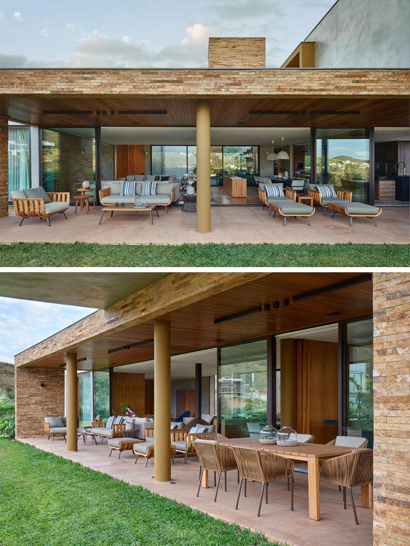 David Guerra Designs A Home In Brazil For A Family That Enjoys Entertaining Friends CONTEMPORIST