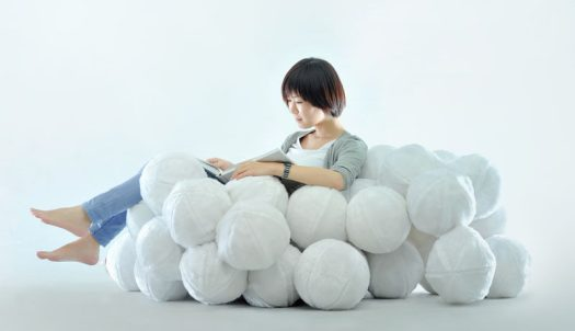 Taiwanese designer Cheng-Tsung Feng has designed Daydreamer, an indoor leisure chair or sofa that's derived from the imagination of a cloud from our childhood. #FurnitureDesign #Sofa #Design