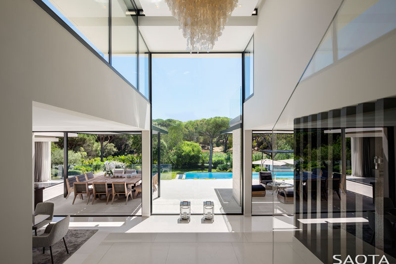 The St Tropez Residence By Saota Contemporist