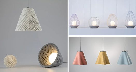 Dror Kaspi of ARDOMA Design has created three new lighting collections that make use materials like concrete and metal. #ModernLighting