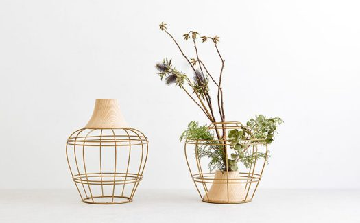 Kimu Design have created a vase that allows you to change the way you display flowers and branches depending on your own needs. #HomeDecor #Vase #Modern