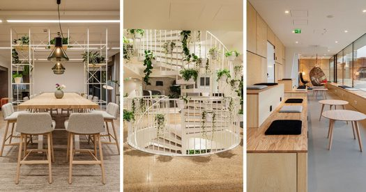 Interior design company dSign Vertti Kivi & Co., have recently completed new offices for Reaktor, a design and technology company based in Helsinki, Finland.