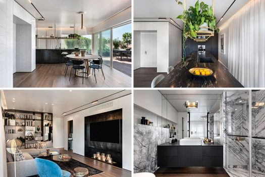 Interior designers Oshri Aviram and Dana Kushmirski have recently completed a modern penthouse apartment in Tel Aviv, Israel. #ModernApartment #InteriorDesign