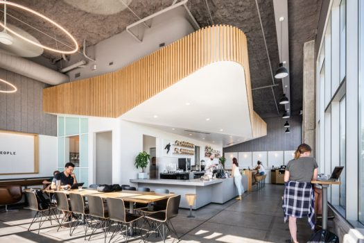 Architecture, interiors and furniture design studio OFFICIAL, have recently completed a coffee and cocktail bar named Houndstooth Coffee in Austin, Texas. #Cafe #CoffeeShop #CocktailBar #InteriorDesign