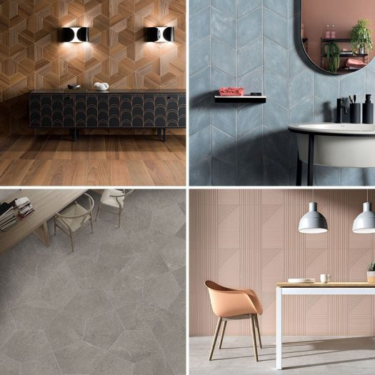 Ceramics of Italy has announced their top tile trends for the spring-summer season. #ModernTiles #TileTrends #ContemporaryTiles