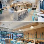 Materials And Colors Were Chosen To Reflect The Coastal And Mountainside Setting Of This Fast Casual Restaurant